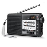 J-01 Ricevitore radio retrò Pocket FM Antenna Radio FM / AM (MW) / SW Micro SD MP3 Regolazione del puntatore MP3 2200Mah1