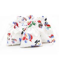 Atins Handstring Buganga Bagsa Bags Ювелирные Изделия Организатор Организатор Смешная атласная Рождественская Свадьба Подарка Подарочная Упаковка 7x9cm