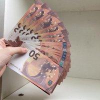 Banconota Realistic 100pcs / Pack gioco Family Paper Prop US / Euro / dollaro denaro o più copia giocattolo201 bambini MIIMP