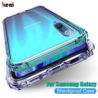 Caso de telefone à prova de choque de luxo para Samsung Galaxy A51 A71 A50 A70 A10 A30 S8 S9 S10 Lite S20 Nota 20 Ultra 8 9 10 Plus Cobertura