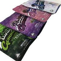 Großhandel 500 mg runtz Gummies essbare Verpackungstaschen Rosa Original äther weiß Runt Mylar Bag 4 Typen Runtg Leere Kunststoff-Reißverschluss-Paket-Baggien