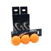 9pcs 3-star 40mm 화이트 옐로 테이블 테니스 공, 고급 Tournamentpong 공 (토너먼트 - 퐁 공)