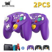 Controlador Bluetooth inalámbrico de DataFrog para Nintendo Switch / Switch Pro / PS3 / PC / TV Box / Android Phone Controller GamePad Control Y1209