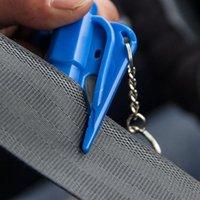 Véhicule Sécurité Hammer Portable Escape Hammers Breaker Montée au véhicule MiniFonctionnel MiniFonctionnel Mini-Lifeaving Safety Hammer EEF3554
