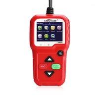 KW680 Araba Teşhis Aracı OBDII Araç Tarayıcı Kodu Destek Meleklik Göstergesi Işık MultiLanguage1