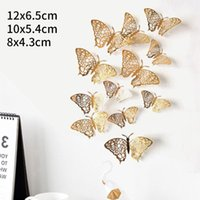 12pcs 3D Butterfly DIY Art Wall Stickers Home Decal Kids Roo...