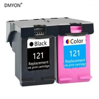 Cartuccia d'inchiostro DMYON Compatibile per 121 Deskjet D2563 F2423 F2483 F2493 F4213 F4275 F4283 F4583 Printer all-in-one1