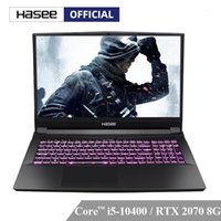 كمبيوتر محمول Hasee TX9-CU5DK للألعاب (Intel Core -10400 + RTX2070 / 16GB RAM / 256SSD + 1HDD / 16.1'144Hz 72٪ NTSC IPS) كمبيوتر محمول