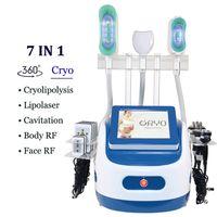 2021 Cryolipolysis 바디 컨투어링 360 Cryo 기계 레이저 슬리밍 미용 장비 Cavitation RF 피부 강화 기계