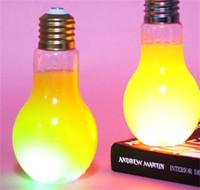 البلاستيك luminescence ضوء لمبة الأصالة عصير الماء حليب زجاجة الشاي شرب التعبئة زجاجات المشروبات المتاح وصول جديد 3 8SH F2