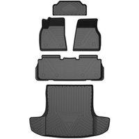 Tesla Model S 2016-2019 Oto Araba Paspaslar Tüm Hava TPE Ayak Paspaslar Kokusuz Pad Su Geçirmez Tepsi Mat İç Aksesuarları