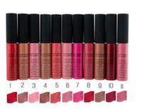 Soft mate à la lèvre de la lèvre lipgloss mate lèvres lèvres naturel velours étanche étanche 8ml maquillage gloss