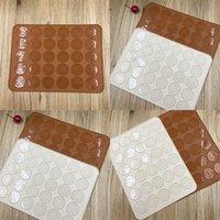 30 buracos silicone pad o forno macaron silicone esteira de silicone esteira de farking pad pad pad pad fermenta vt0227 127 j2