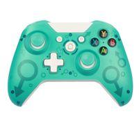 Top Quality 2.4G Controlador inalámbrico Gamepad Precise Thumb Joystick Gamepad para Xbox One / PS3 / PC Envío rápido