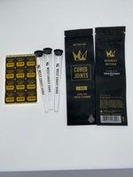 Batı Sahili Kür Kürek Eklem Çanta Packagee + Plastik Tüpler Paket Moonrock Preroll Ön Haddelenmiş Tüp Ambalaj Zip Kilidi