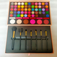 Brand 61color eye shadow palette set 7pcs Makeup Brush Blush...