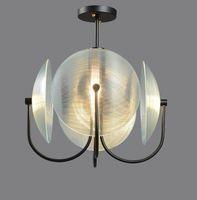 Nordic Light Luxus Schlafzimmer Kronleuchter Post Moderne Studienlampe Kreative Persönlichkeit Restaurant Designer Kunst Glas Hängelampe