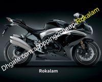Per Suzuki GSXR1000 09 10 11 12 13 14 15 16 GSX-R1000 GSX R1000 2009-2016 GSXR 1000 K9 Black Fairing (stampaggio a iniezione)