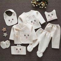 Emotion Moms (/ Set) Детская одежда 0- новорожденные костюмы малыши одежда наборы детские мальчики девочек костюм термический органический хлопок LJ201223