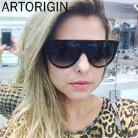 Óculos de sol Kim Kardashian Fashion Woman Designer Vintage Flat Top Loxo Top Sun Óculos Piloto Grande Black Pink Shades1