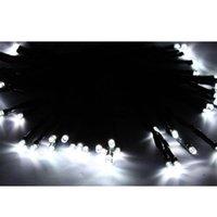 Solar LED 50 Desarrollado blanco puro cadena luz de Navidad Jardín Deco vacaciones LED Strings entrega gratuita