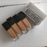 Drop Shipping Maquiagem Fundação 4 Cores Corretivo Compõem Capa Primer Concealer Base Profissional Rosto Maquiagem