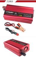 Carbest General 1500W Professioneller DC an AC Power Inverter 12V bis 110V Automotive Auto Stromversorgung Inverter
