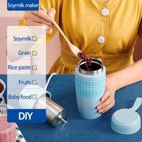 Sıkacaklar Taşınabilir Soymilk Makinesi Elektrikli Blender Sıkacağı Otomatik Isılanabilir Soya-Bean Süt Pirinç Macun Maker Filtre Ücretsiz Yalıtım 220 V