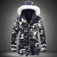 Winter Jacket Men Hot Sale Camouflage Army Thick Warm Coat M...