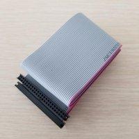 """컴퓨터 케이블 커넥터 노트북 2.5 """"HDD 하드 드라이브 44pin IDE 여성을 확장 데이터에 유연한 리본 케이블 50cm / 19.7inch1"""