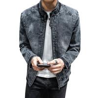 Giacche da uomo uomini inverno moda plus velluto jeans giacca primavera autunno denim maschile cappotti casual jaqueta de couro