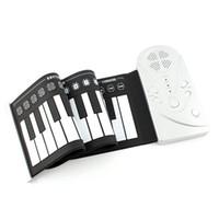 Piano laminé à la main 49 claviers flexible Instruments de musique électroniques portables