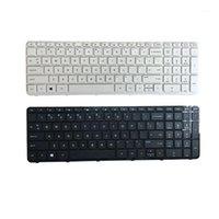 Novo teclado dos EUA para pavilhão 17-n 17-E 17N 17E R68 inglês Teclado de laptop branco e black1
