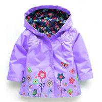 Kinderregenmantel Jungen Mädchen Jungen Wind Regen Wasserdichte Mäntel Jacke Kleidung Mädchen Kleidung für 2-6 Jahre Kinder Regen Mit Kapuze Mäntel TCoik