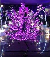 2020 светодиодный вишневый цвет дерева света 864 шт. Светодиодные лампочки 1,8 м Высота 110 / 220VAC семь цветов для опции Дождевременное наружное использование