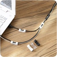 Autohession Wire Thread Management Gerät Haushalt Weiß Schwarz Netzwerk Kabel Fixierclip Data Line Storage Finisher 1 15ZL J2