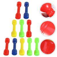 Гантели 10 шт. Упражнение Фитнес пластиковые эргономичные ручные батончики для детей детский сад