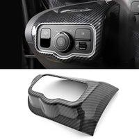 Accessoires de voiture Tête avant Lampe d'éclairage Couvercle Cover Cadre Cadre Cadre Décoration de la Cadre pour Mercedes-Benz A-classe W177 V177 2018-2021