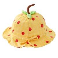 Geniş Brim Şapka Nefes Güneş Şapka Açık UV Koruma Yaz Çilek Balıkçı Beach Beach Bebek)