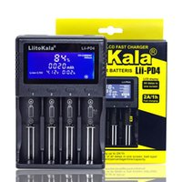 LIITOKALA LII-PD4 LII-S2 LII-S1 LII500S Batterieladegerät LCD-Display Smart 2A Schnellladung für 3,7 V 18650 21700 26650 Lithium-Batterie