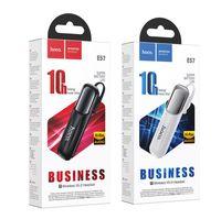 HOCO E31 E57 미니 비즈니스 핸드 프리 이어 유사 무선 블루투스 V4.1 이어폰 자동차 블루투스 헤드셋 블랙 화이트 컬러 + 소매 패키지