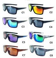 Brand New Colourful Vento Popolare Vento Ciclismo Specchio Sport Occhiali da sole Occhiali da sole Occhiali da sole per le donne Occhiali da uomo 8 colori Spedizione gratuita