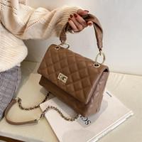 Lüks güzel kadın çanta kadın 2021 zincir crossbody omuz çantası üzerinde moda alışveriş deri çanta