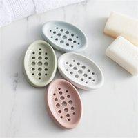 Portátil de jabón de silicona portátil con ducha de baño jabón placa de almacenamiento platos cajas recipientes casera cocina baño suministros db 43 g2