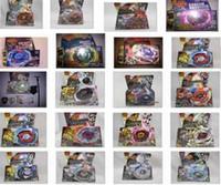 Modeller Beyblade Metal Fusion 4D Launcher ile 45 Beyblade İplik Üst Set Çocuklar Oyun Oyuncaklar Noel Hediyesi Çocuk Kutusu Paketi için DC435