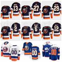 2021 Hockey Retro Retro New York Islanders Jersey 13 Mathew Barzal 27 Anders Lee 29 Brock Nelson 12 Josh Bailey 2 Nick Leddy