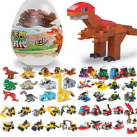 Kapsül Oyuncak Yapı Taşları Oyuncaklar Confluence Çocuk Dinozor Komik Yumurta Küçük Parçacıklar Monte ve DIY Uyumlu