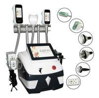 CE-Genehmigung Cryolipolyse-Maschine Lipo-Laser-Abnehmen-Ausrüstung RF-Kavitationskörper Abnehmen Doppelkinnentfernung 360 Fett einfrieren Gewichtsverlust