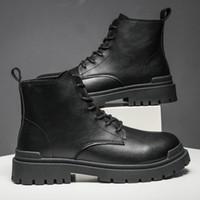 Marke für Männer Echtes Leder Mode Doc Boots Martin Casual Schuhe Botas Martens 2020 Q1202