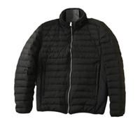 Topstoney 20fw 남자 겨울 가열 탈착식 자켓 남자 캐주얼 거위 다운 트렌디 한 재킷 검은 복강 자 켓